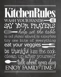 kitchen rules free printable kitchen rules free printable and