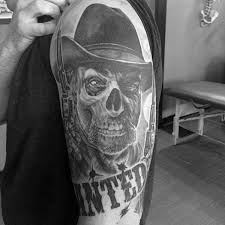 cowboy skull tattoo designs pictures to pin on pinterest tattooskid
