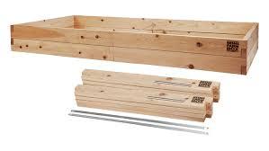 Cedar Raised Garden Bed 4x8x11 Raised Garden Bed Kit Minifarmbox