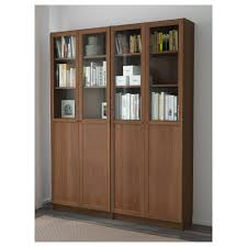 Book Cabinet With Doors by Billy Oxberg Bookcase White 63x79 1 2x11