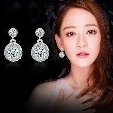 earrings malaysia diamond stud earrings new fashion jewelry large earring earrings