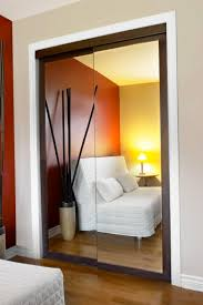 Mirror Closet Doors Furniture Bedroom With Sliding Mirrored Wardrobe Door With