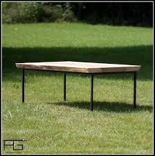 Table Acier Bois Industriel by Table Basse Axis Design Industriel Acier Et Bois Live Edge Agtrema
