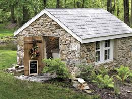 small stone cottages home design ideas