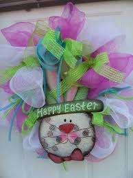 Easter Decorations With Deco Mesh by 217 Best Deco Mesh Ideas Images On Pinterest Holiday Wreaths