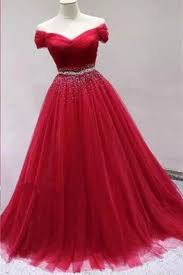 stylish dresses stylish tulle shoulder customize sweet 16 prom dress