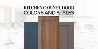 wood kitchen cabinet door styles 5 most popular kitchen cabinet colors and styles