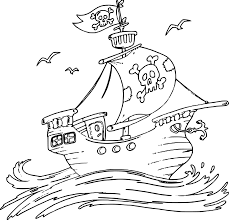 pirate ship coloring pages get coloring pages