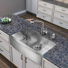 vigo stainless steel pull out kitchen faucet faucet com vg02019st in stainless steel by vigo