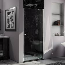39 Shower Door Dreamline 39 In To 40 In X 73 In Semi Frameless Pivot