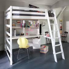 chambre ado fille avec lit mezzanine decoration chambre fille avec lit mezzanine visuel 4