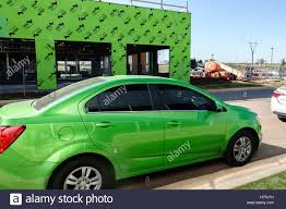 Matching Colors Unusual Coincidence Of Lime Green Matching Colors In An Automobile