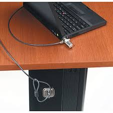 Computer Desk Lock Targus Defcon Ccl Notebook Laptop Coiled Cable Lock