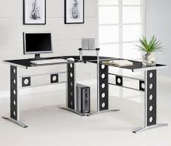 modern contemporary home office desk fascinating in small home