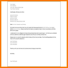 30 days notice letter to landlord 30 day lease termination letter
