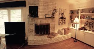 some options of contemporary brick fireplace makeover mantel