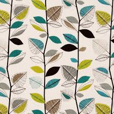 modern teal lime green black u0026 white leaves printed roman blinds