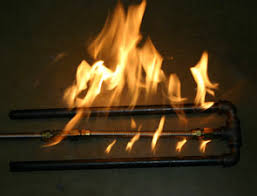 Fireplace Burner Pan by Custom Steel And Stainless Steel Fireplace Pipe Burners For