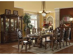 Dining Room Table And China Cabinet Acme Furniture Vendome Traditional Hutch U0026 Buffet Del Sol