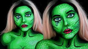 Halloween Makeup Me neon pop art beauty halloween makeup tutorial youtube