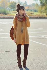 winter style big sweaters leggings and boots this would be me