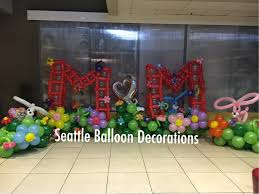 mother u0027s day decorations seattle balloon decorations