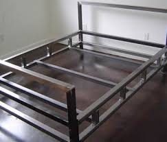 Metal Frame For Bed Ss400 Steel Angle Used As Bed Frame Steel Sections Pinterest