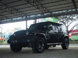 mobil jeep modifikasi mobil wrangler rubicon use velg aev ring 17 3 jstylerims