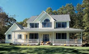 country style home country style farmhouse w wrapping porch hq plans pictures