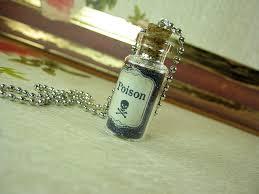 bottle necklace pendant images Poison 2ml glass vial bottle necklace pendant charm toxin toxic JPG