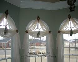 Arch Windows Decor Marvellous Inspiration Ideas Curtain Ideas For Curved Windows