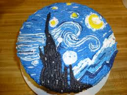 20 best starry night cake images on pinterest starry nights