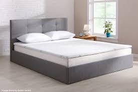 ovela bamboo memory foam mattress topper queen kogan com
