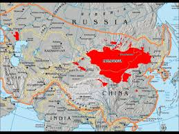 Mongol Empire Map Genghis Khan History Fair Youtube