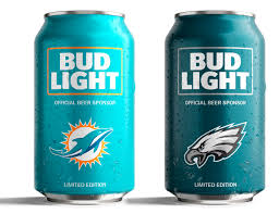 Bud Light Logo Bud Light U0027s Popular Nfl Team Cans Are Back With A New Minimalist