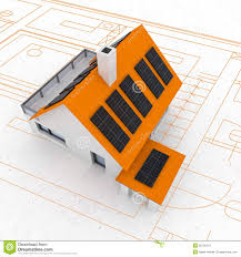 sustainable solar panel with trees in the background for the