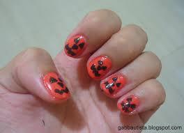 Halloween Nail Art Pumpkin - confessions of gab bautista halloween nail art design 1 pumpkin