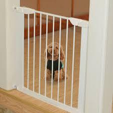 pawhut 3 panel safety gate dog pet baby kids barrier folding