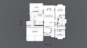 Arlington House Floor Plan by Mascord House Plan 1201j The Dawson