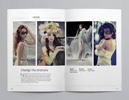 minimalist resume template indesign album layout img models worldwide 40 beautiful indesign fashion brochure templates web graphic