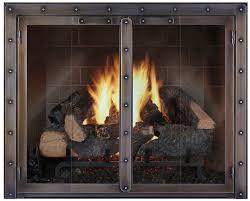fire resistant glass doors fireplace doors fireplace door custom fireplace doors