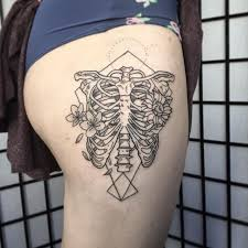 feel it in your bones 10 cool rib cage tattoos tattoodo