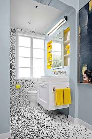 black white and grey bathroom ideas splendid stylish small bathroom ideas black white yellow small