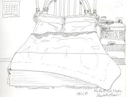 Drawing Of A Bed St Thomas Drawing