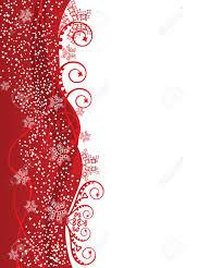 red wavy christmas border design royalty free cliparts vectors