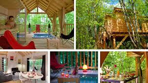 chambre d hote cabane dans les arbres cabane spa dans les arbres en corrèze cabane de luxe avec et
