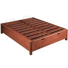 letto a legno massello letto contenitore legno massello idea la casa econaturale