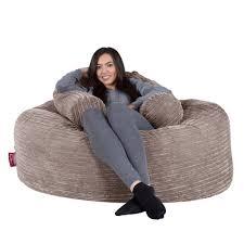 giant bean bag sofa lounge pug large bean bag for adults giant beanbag uk cord mink