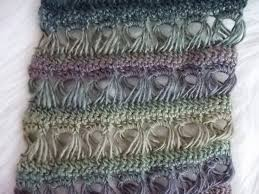 broomstick lace broomstick lace crochet scarf pattern for sale from april hubbard