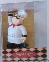Bistro Chef Kitchen Curtains by Nwt Italian French Fat Chef Theme Night Light Bistro Light Kitchen